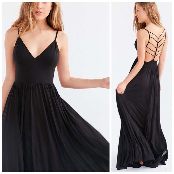 efceab7f99 Urban Outfitters Dresses | Silence Noise Water Works Strappy Maxi ...